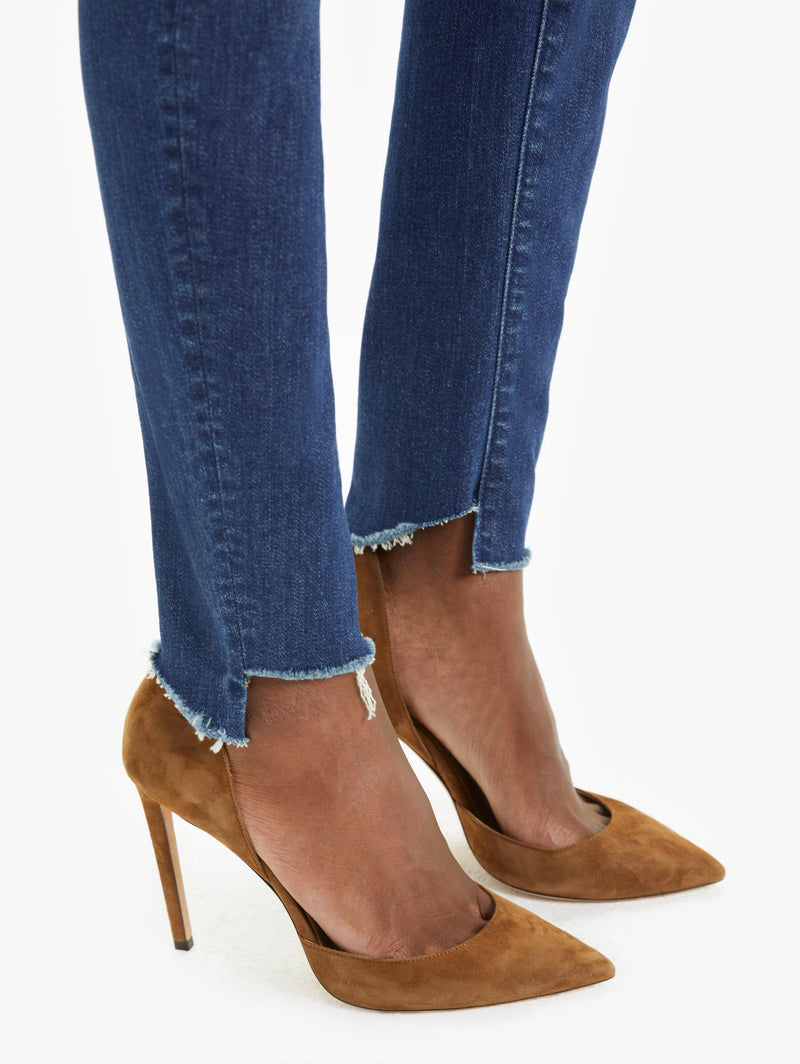 The Looker Two Step Ankle Fray