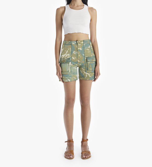MOTHER The Rambler Patch Pocket Short