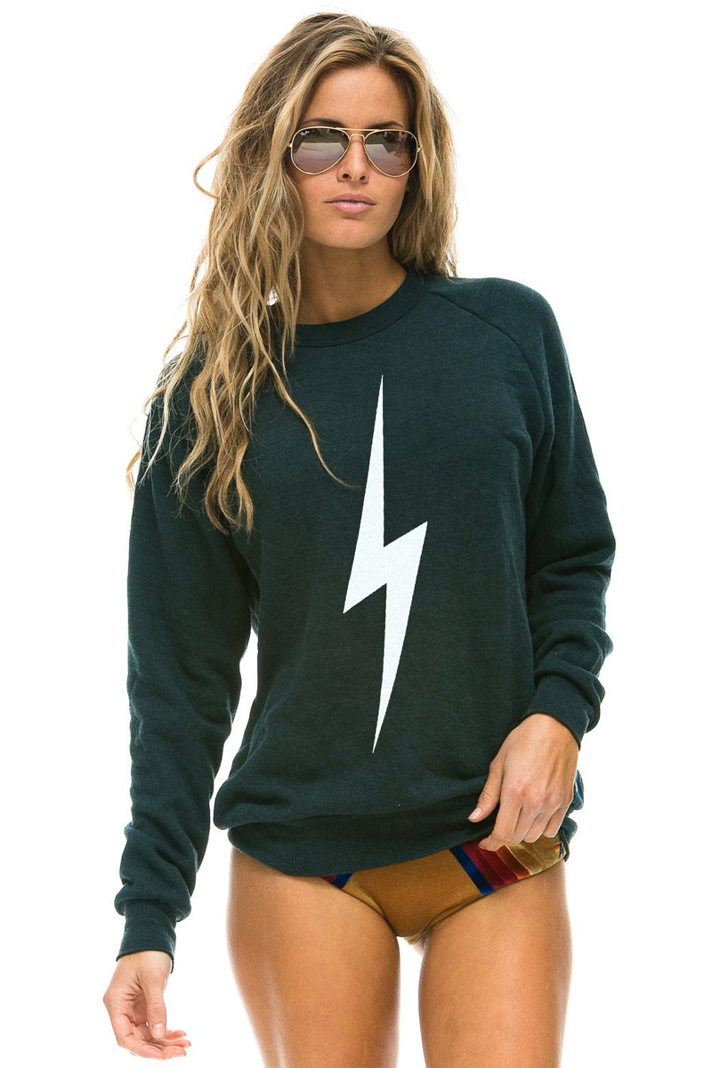 AVIATOR NATION Crew Sweatshirt-Bolt