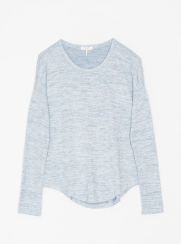 RAG & BONE The Knit Long Sleeve Tee