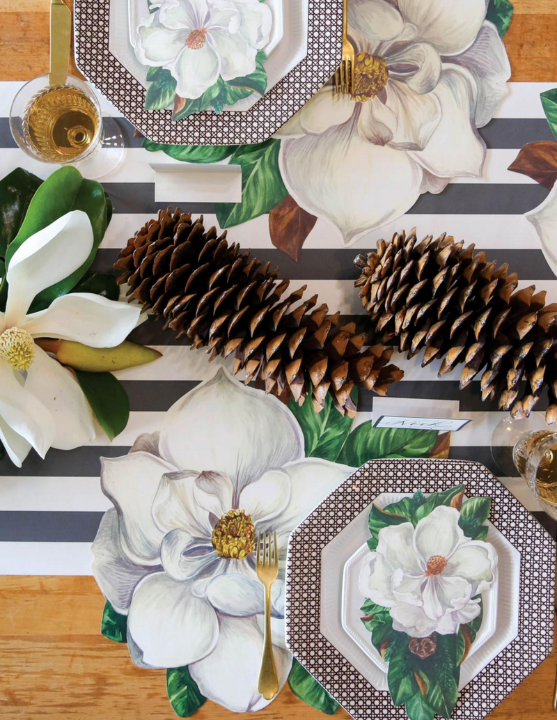 HESTER & COOK Die Cut Magnolia Placemat