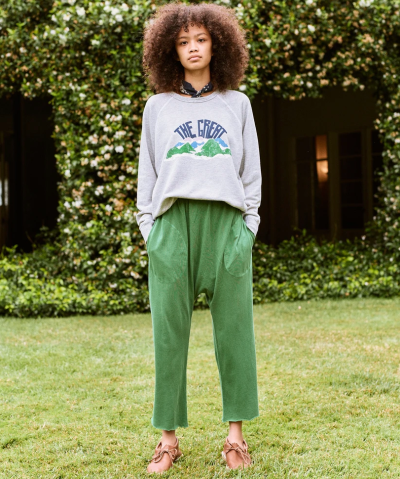 The College Sweatshirt - Mountainside Graphic
