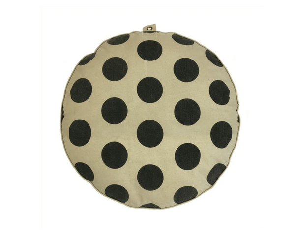 Polka Dots Floor Pouf or Dog Bed