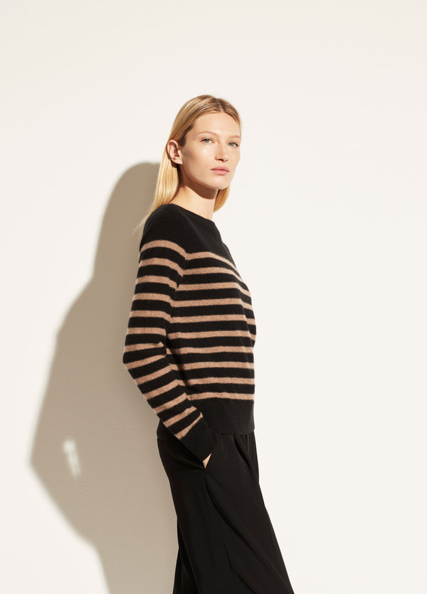 Breton Striped Cashmere Boat Neck