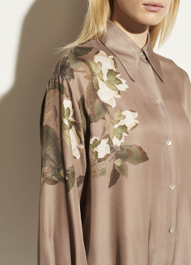 Lisianthus Collared Blouse