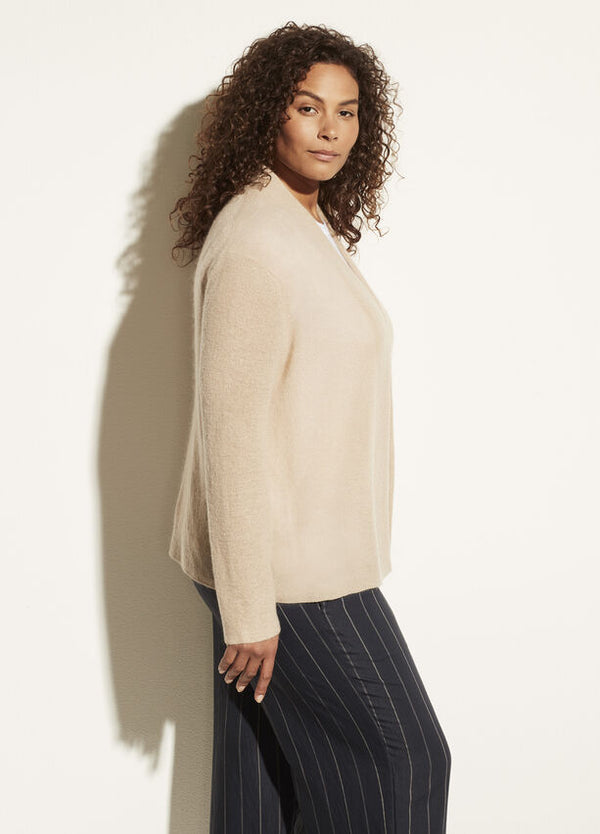 VINCE Ribbed Convertible Cardigan