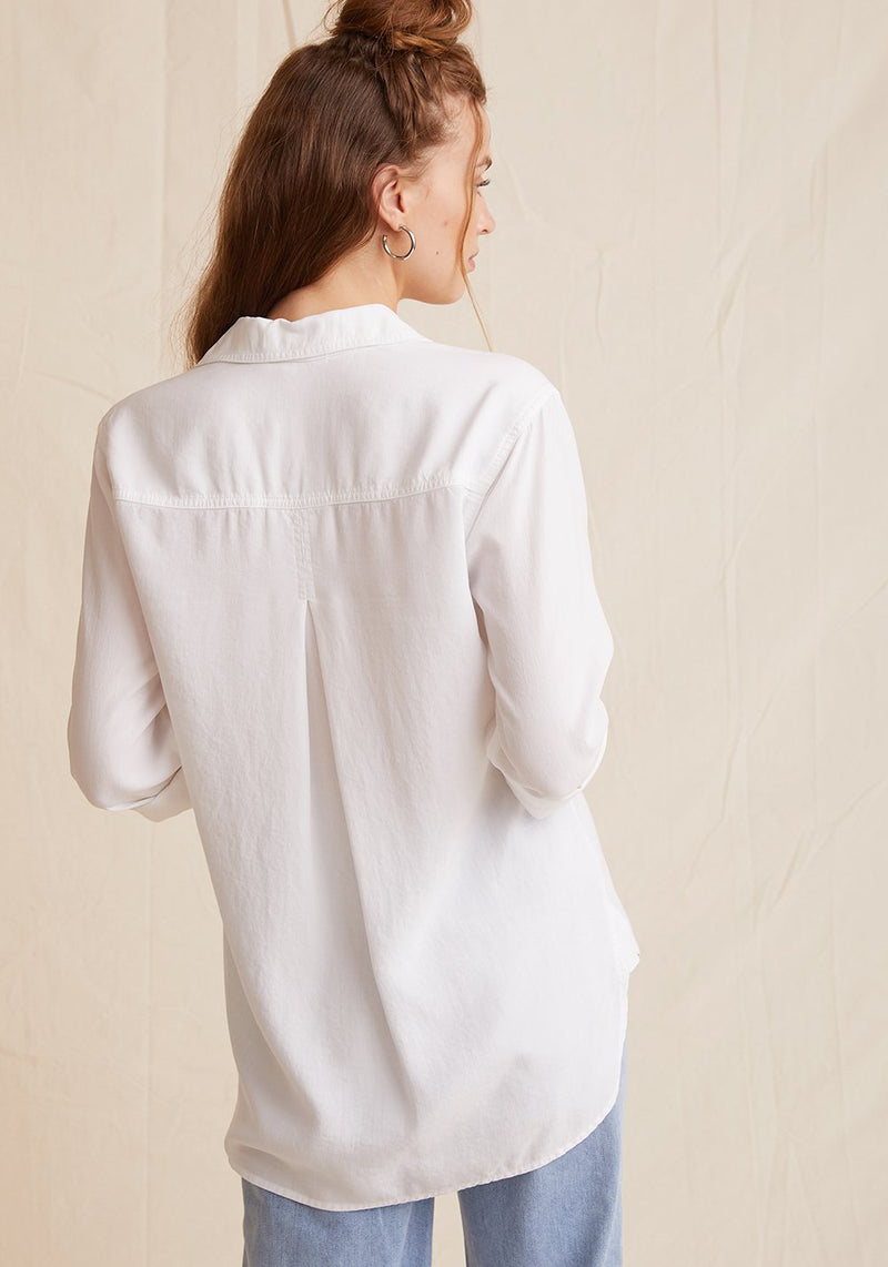 BELLA DAHL Shirt Tail Buttondown shirt