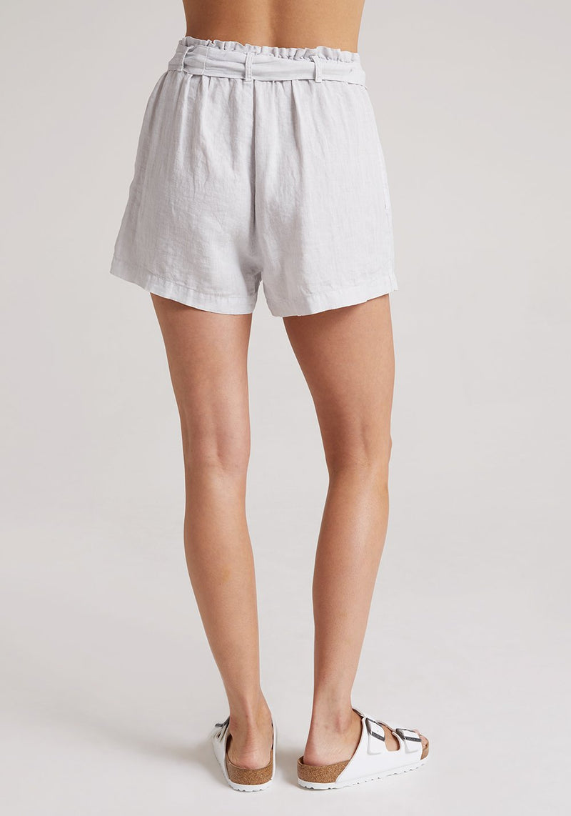 BELLA DAHL Belted Button Front Short