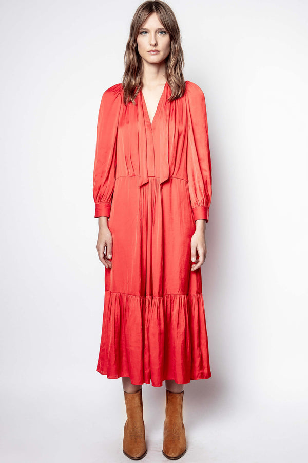 ZADIG & VOLTAIRE Roland Satin Dress