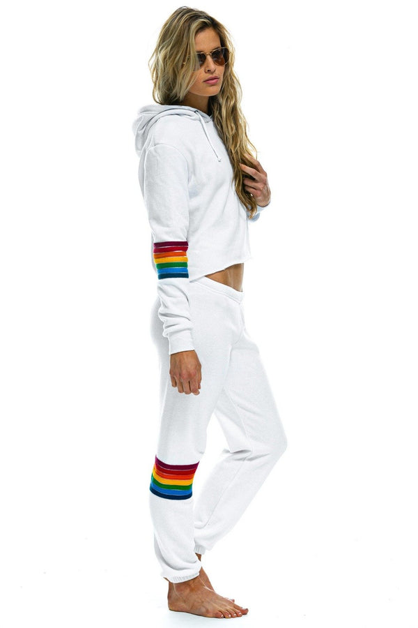 AVIATOR NATION Rainbow Stitch Sweatpant