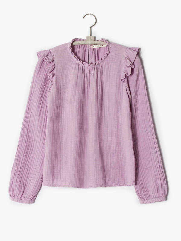 Light Lilac Lanie Top