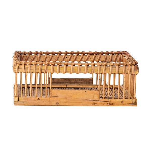 Bamboo Square Napkin Holder