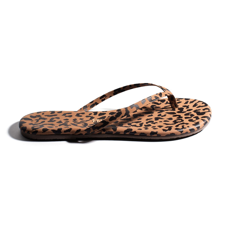 TKEES Flip Flops - Cheetah