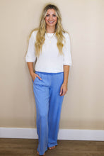 Load image into Gallery viewer, BELLA DAHL Smocked Waist Wide Leg Pant