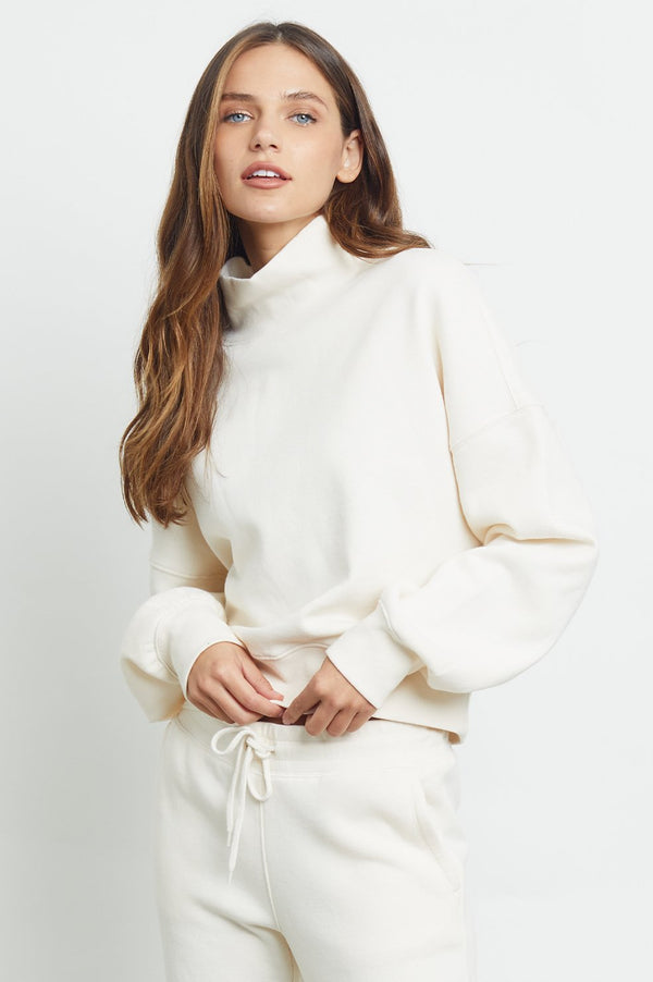 Blaire pullover - winter white
