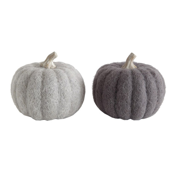 "5.5"" felted wool pumpkin"