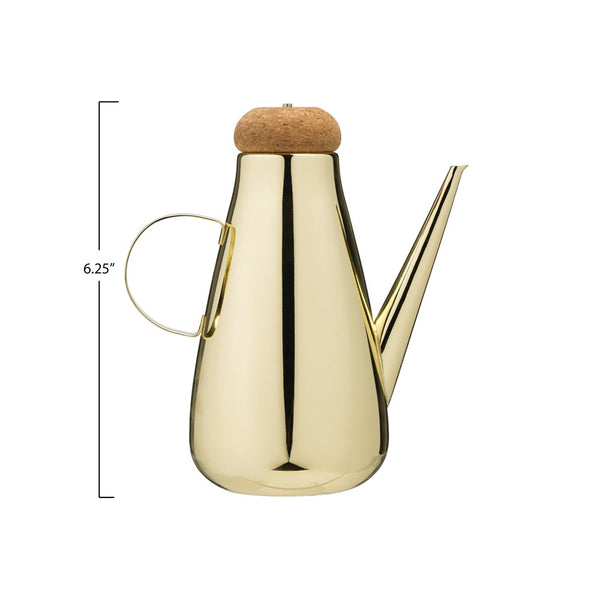 Brass Olive or Vinegar Cruet
