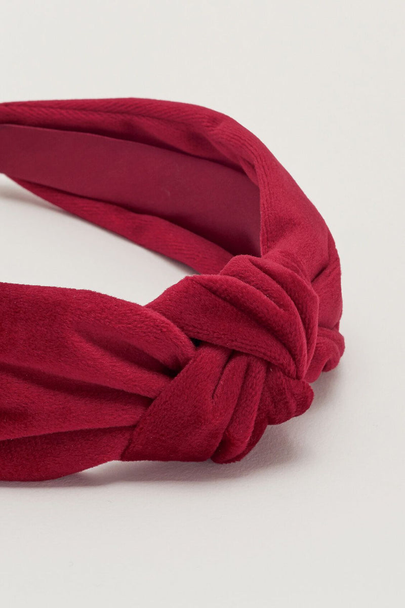 Velvet Knot Head Band