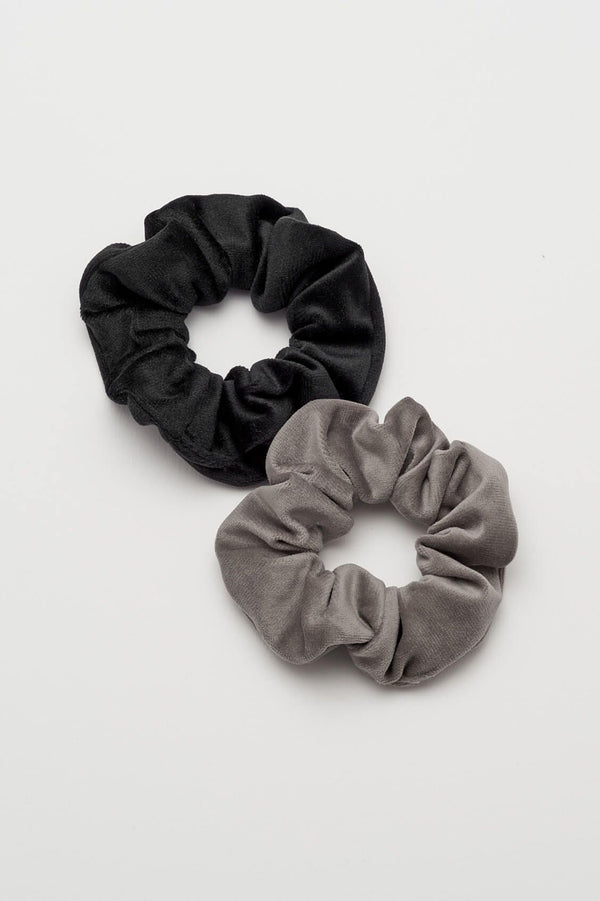 Velvet Duo Scrunchies