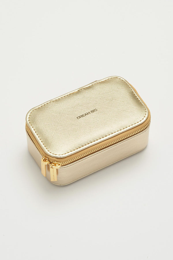 Mini Jewelry Box - gold