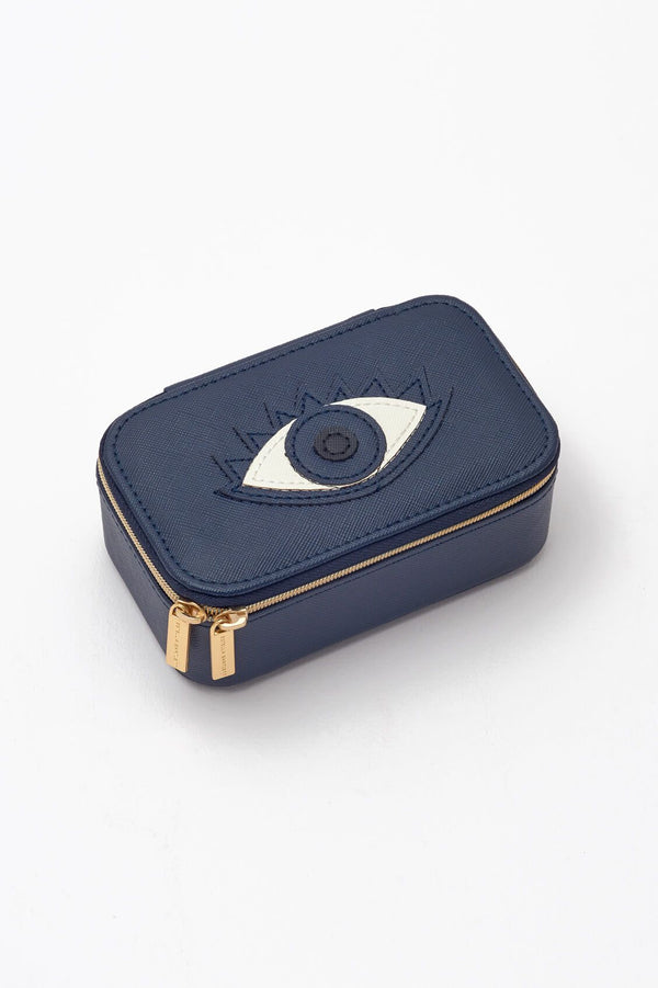 Mini Jewelry Box- eye applique