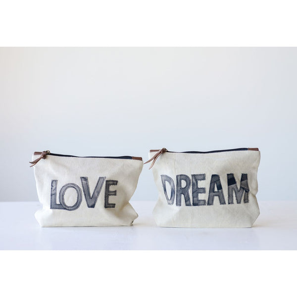 Cotton Canvas pouch, Dream