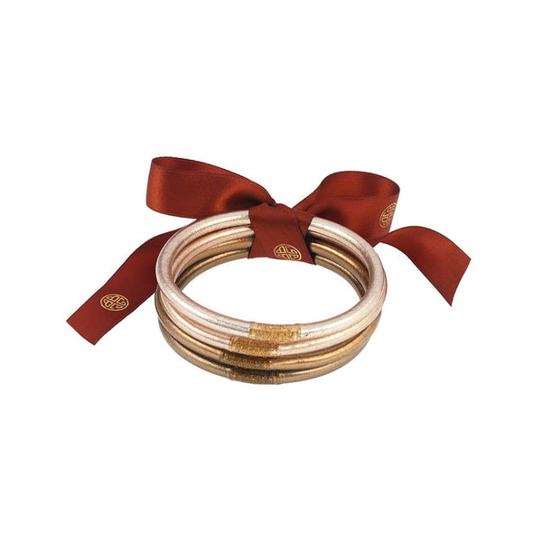 BUDDHAGIRL ALL WEATHER BANGLES- Fawn