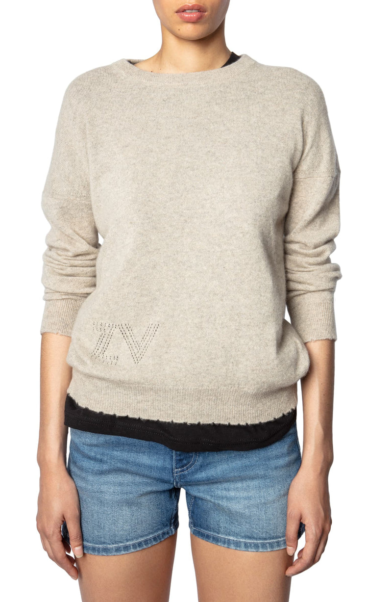 ZADIG & VOLTAIRE Cici Patch Sweater