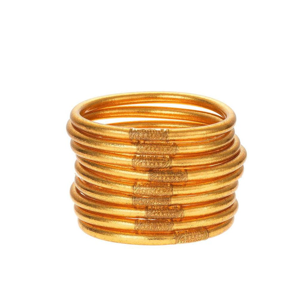 BUDHAGIRL ALL WEATHER BANGLES- Gold