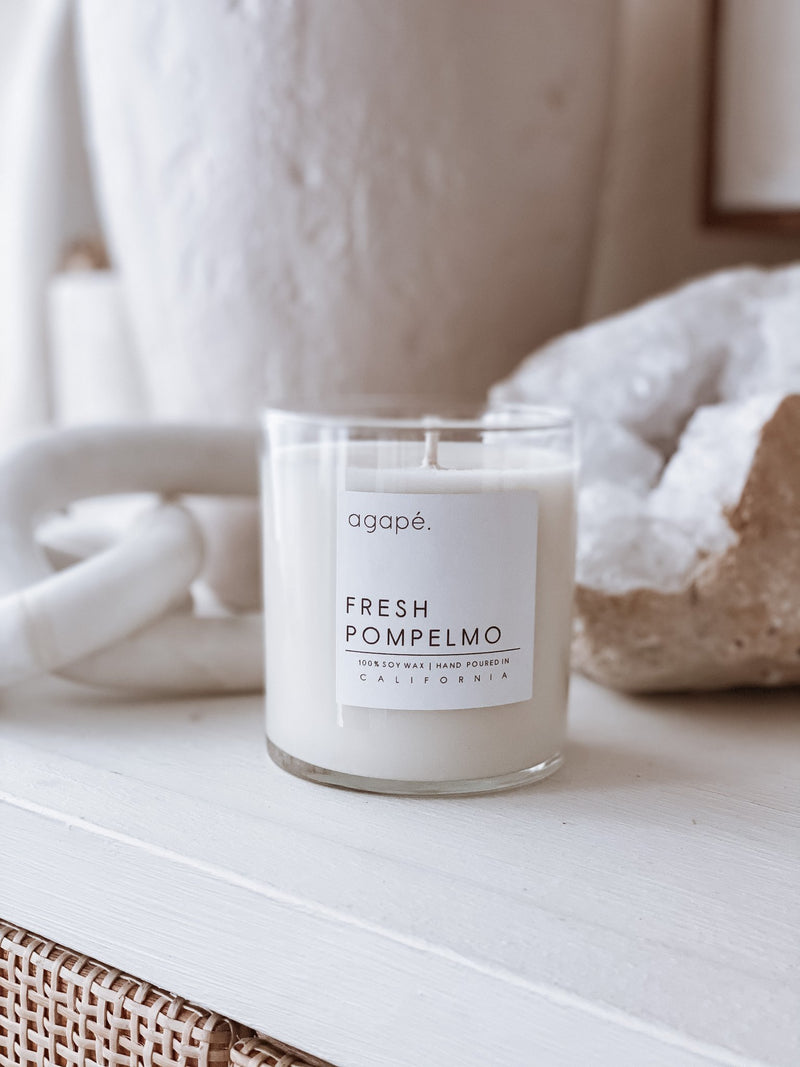 AGAPE CANDLES Fresh Pompelmo Candle