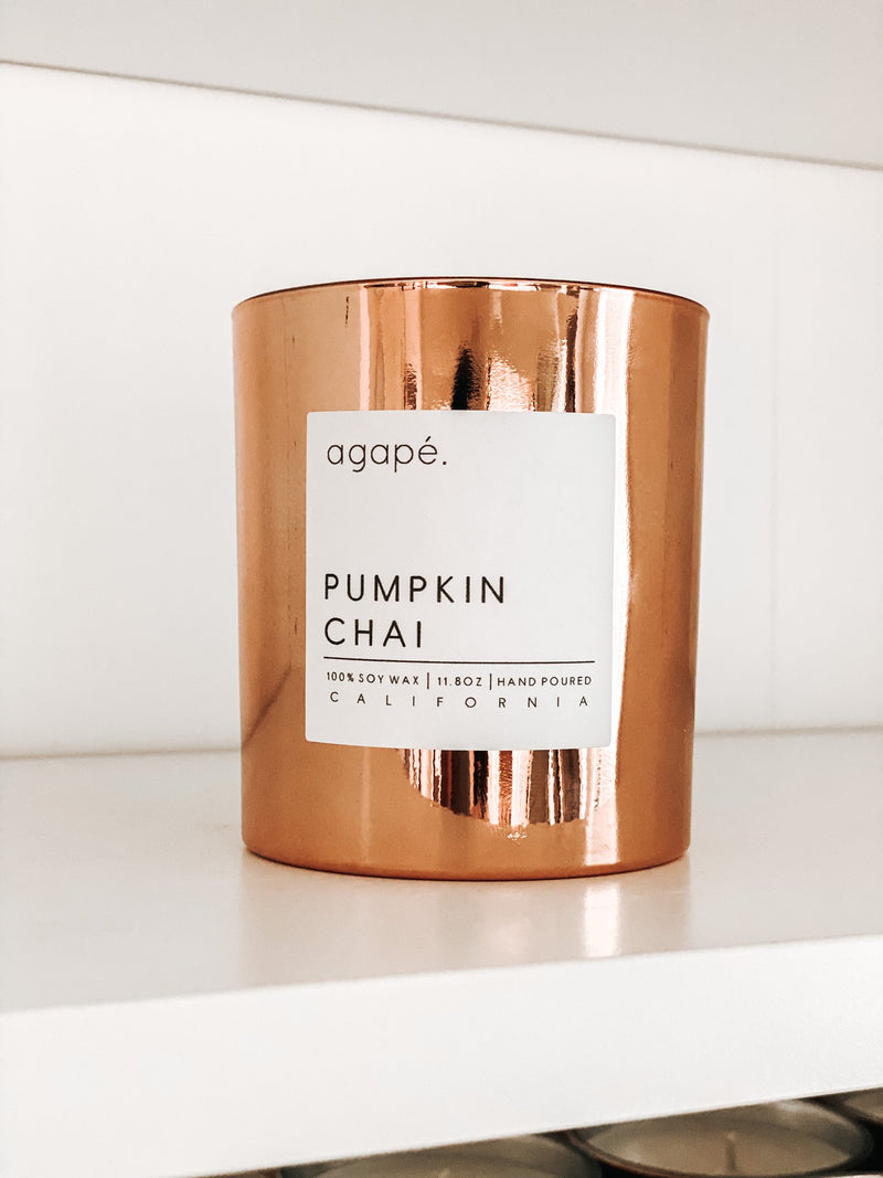 AGAPE CANDLES Copper Fall Candle