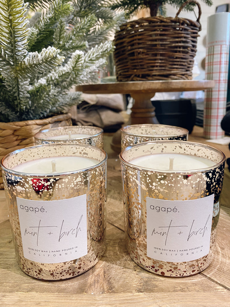 Agape Winter Candle