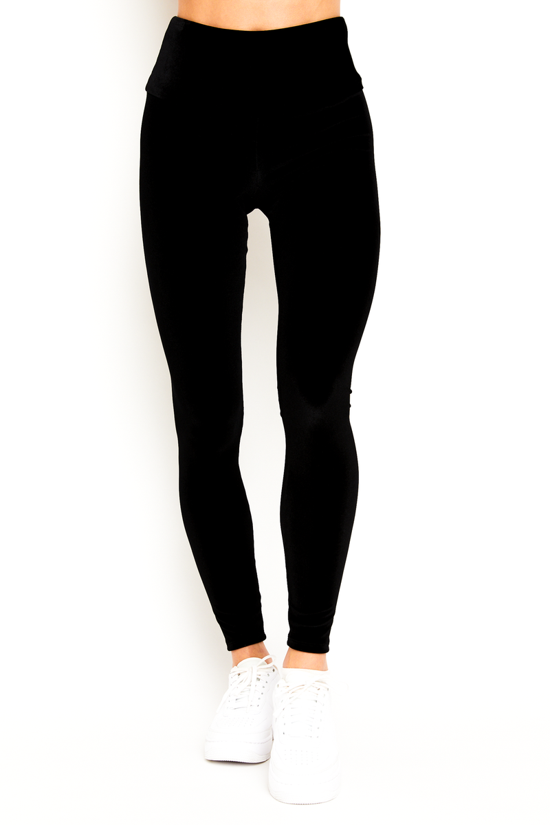 Black Velvet Legging