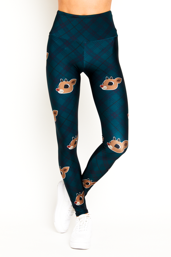 Red Nosed Reindeer Legging