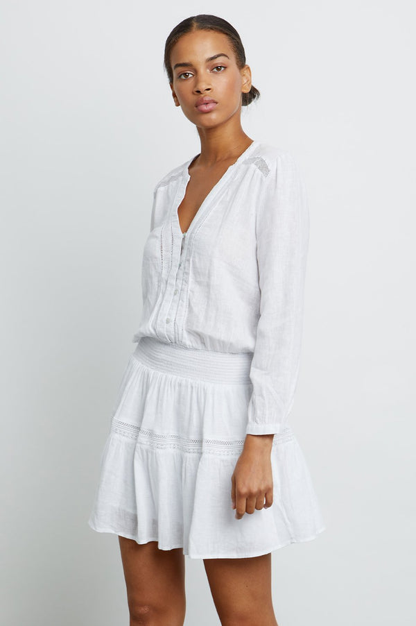 RAILS Jasmine Dress - white lace