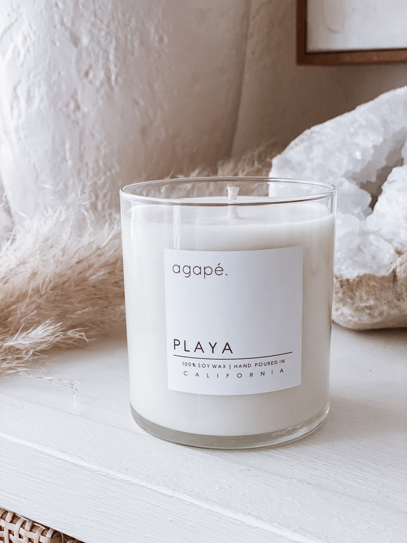 AGAPE CANDLES Playa Candle