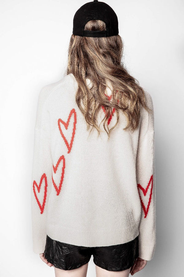 ZADIG & VOLTAIRE Heart Sweater