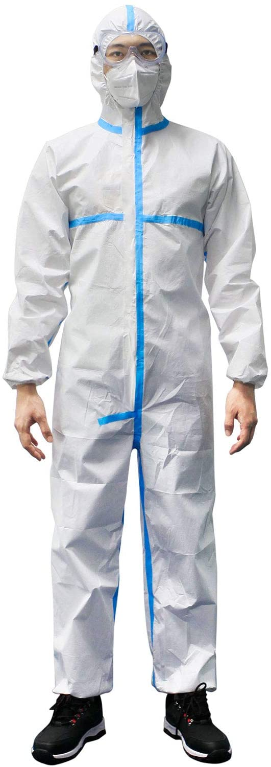 Microporous Protective Coverall