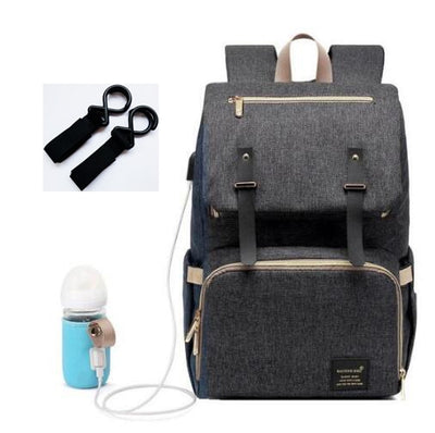 Diaper Maternity Nappy Baby Care Bag For Mummy Moms Stroller Pram Bag USB Waterproof Travel Nursing Mommy Bakcpack Changing Bag