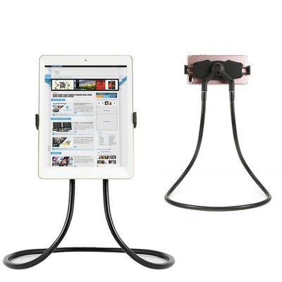 Flexible Mobile Phone Holder Hanging Neck Lazy Necklace Bracket Bed 360 Degree Phones Holder Stand For iPhone for Xiaomi