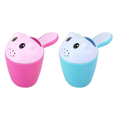 Cartoon Baby Shampoo Cup Shower Water Spoon Infant Bathing Ladle Children Wash Hair Head Cup Kid Bathing Beach Toy For Baby Care