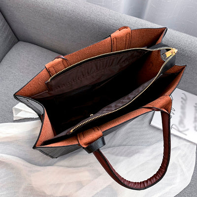3Pcs Women's Bag Set Bag Fashion PU Leather Ladies Handbag Solid Color Messenger Bag Shoulder Wallet Bags For Women 2019