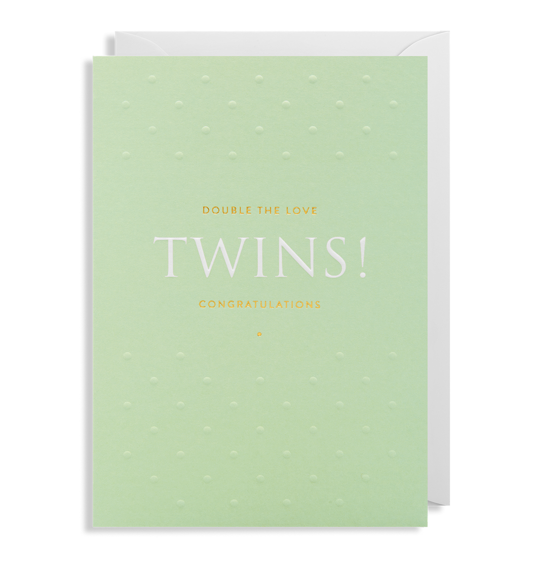 Double The Love Twins - Card