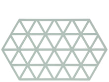 Load image into Gallery viewer, Trivet Triangles - Nordic Sky