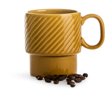 Load image into Gallery viewer, Coffee and More Mug - Mustard