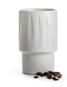 Coffee and More Latte Mug - White