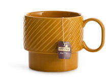 Load image into Gallery viewer, Coffee and More Tea Mug - Mustard