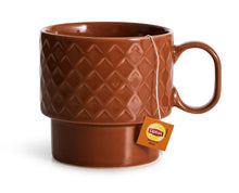 Load image into Gallery viewer, Coffee and More Tea Mug - Terracotta