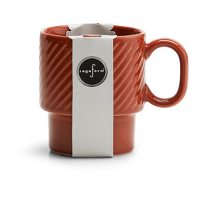 Coffee and More Mug - Terracotta