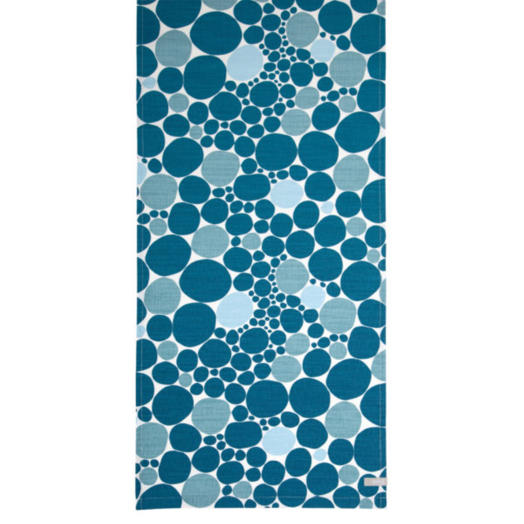 Bubbla Table Runner - Blue